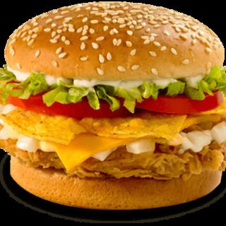 Plain Paneer Cheese Burger